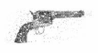 GUN : modern halftone style (LOOP) video