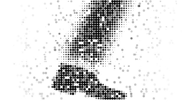 STEP : modern halftone style (TRANSITION) video