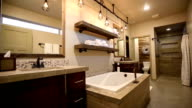 Modern Master Bathroom Rise Up from Floor video