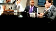 Modern Multi Ethnic Executive Business Team video
