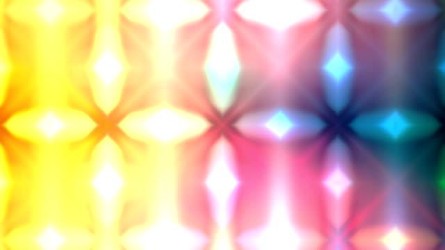 Modern shapes symmetry loop video