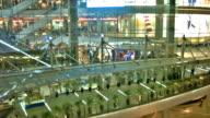Modern shopping mall video