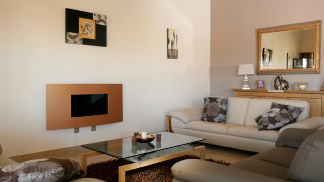 Modern stylish living room video