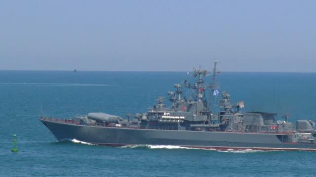 modern warship military exercises video