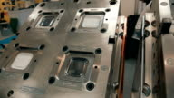Molds for manufacturing plastic boxes for food video