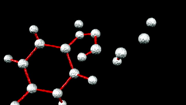 Molecular structure (Alpha included) HD video