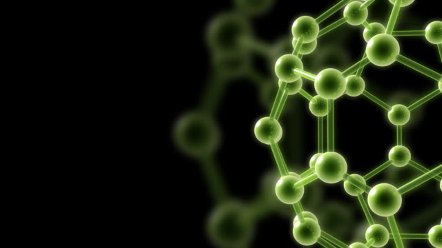 Molecular structure HD video