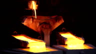 Molten copper video