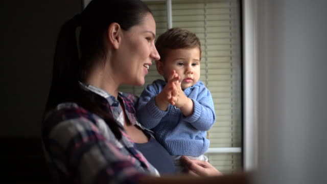 Mom and her son video