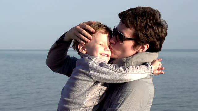 Mom and Young Son video