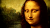 Mona Lisa portrait talking video