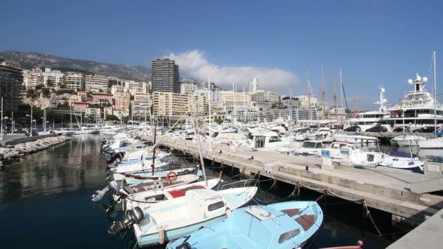 Monaco Marina - Wide View video