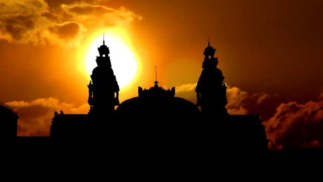 Monaco Opera sunset video