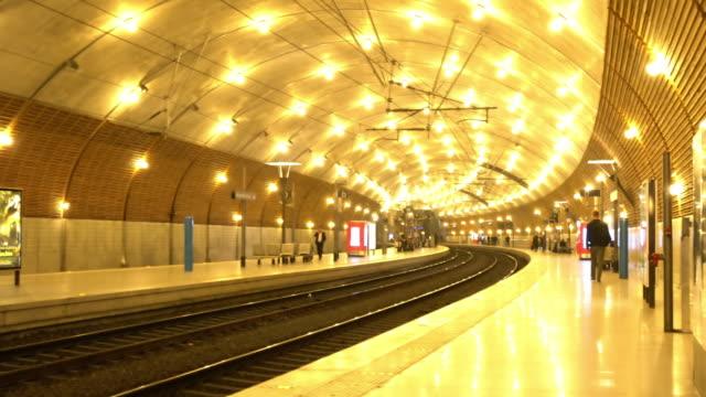 Monaco-Monte Carlo train station. video