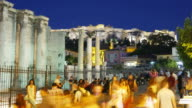 monastiraki square in athens video