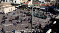 Monastiraki Square in Capital Cities Athens video