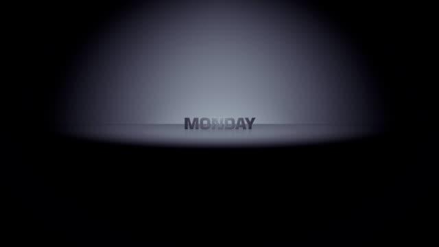 Monday Week Day Horizon Zoom video