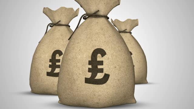 Money Bag (alpha channel) video