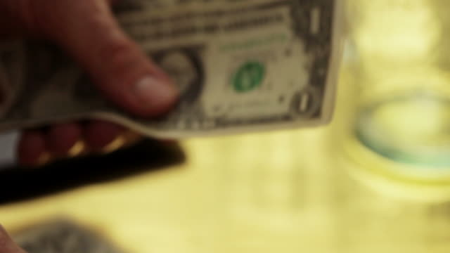 Money, counting dollars         MO video