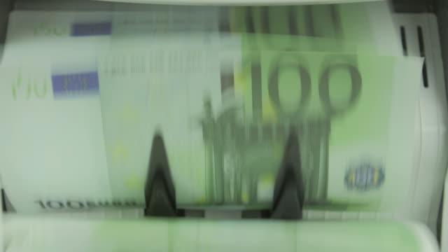 Money Counting Machine: Euro video