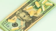 Money & Drugs Zoom In HD video