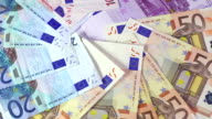 Money - EU banknotes video