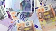 Money - EU banknotes video