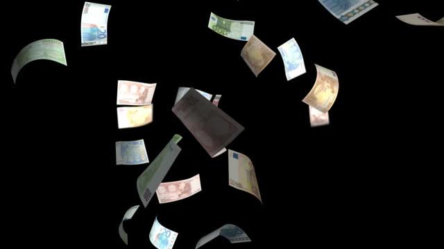 Money, Euro, Falling video