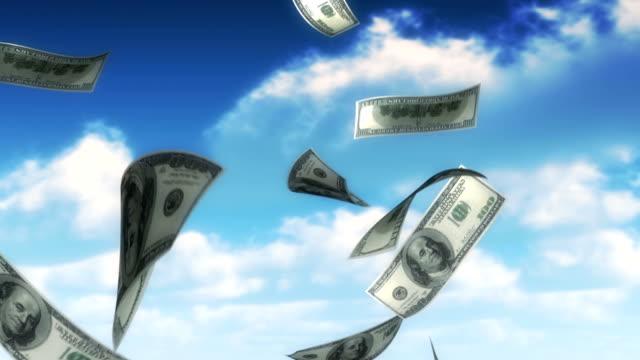 Money from Heaven - USD (Loop) video