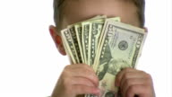Money in Face video