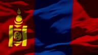 Mongolia Flag video