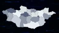 Mongolia network map video