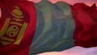 Mongolian Flag video