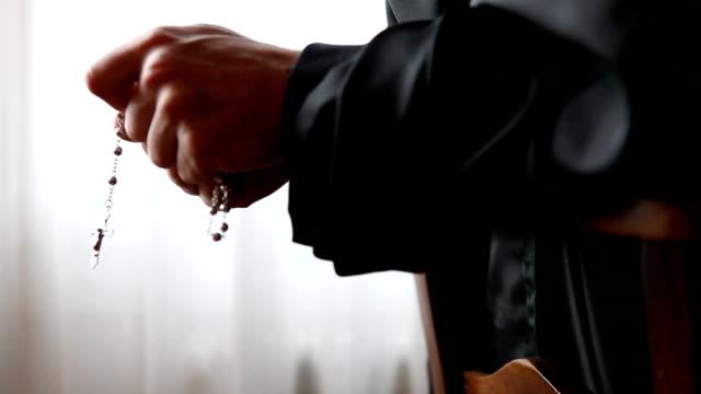Monk praying video
