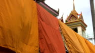 Monk Robes At The Temple video