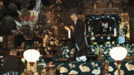 LS Monks in a temple of Shingon Buddhism video