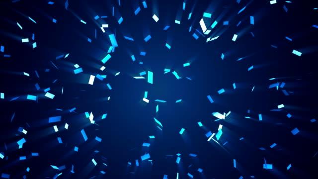 Monochrome Confetti video