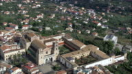 Monreale Abbey And Cathedral  - Aerial View - Sicily, Province of Palermo, Monreale, Italy video