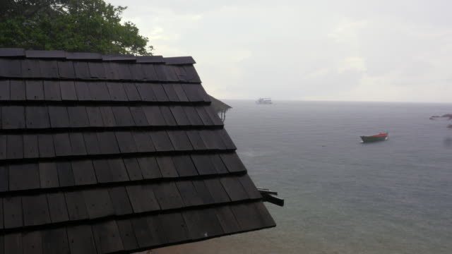 Monsoon Rain-  koh tao island video