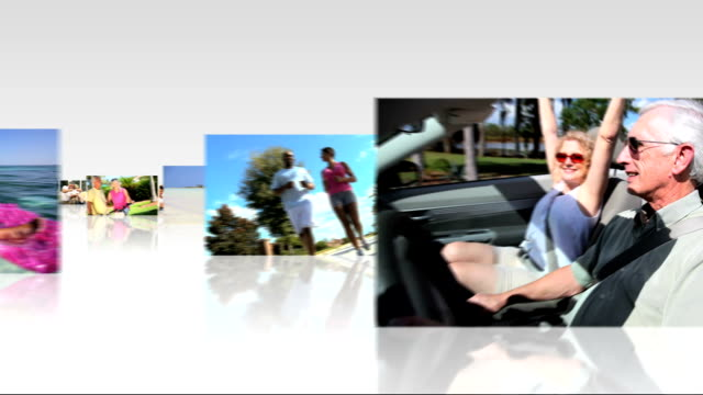 Montage 3D Images Couples Lifestyle Activities video