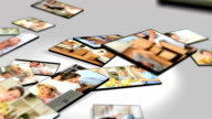 Montage 3D Images Family Home Lifestyle video