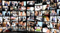 Montage 3D Young Business People video
