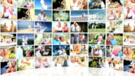 Montage Collection Older Couples Retirement Lifestyle video