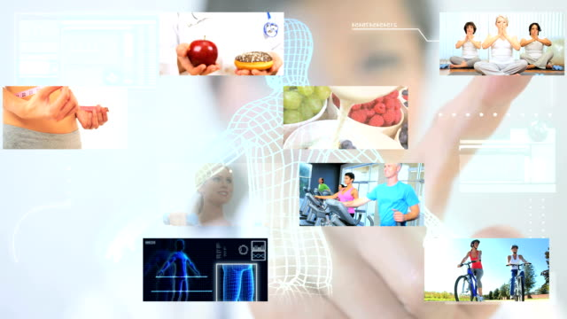 Montage Digital Touch Screen Exercise Fitness video