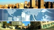Montage Global Business, New York, USA video