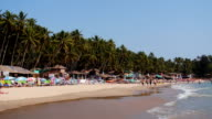 Montage: Goa Palolem beach in India video