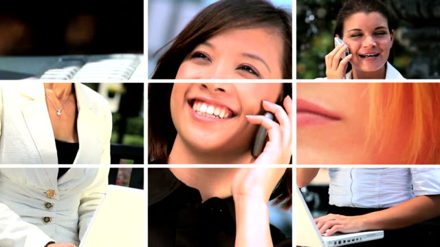 Montage of Business People & Modern Technology video