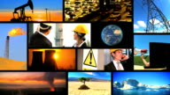 Montage of Contrasting Environmental Images video