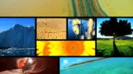 Montage of ecosystems  around the Globe video