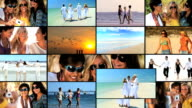 Montage of Females at Leisusre video